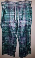 Lane Bryant Cacique Red Plaid Sleep Lounge Pajama Pants