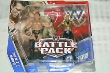 WWE/MATTEL THE MIZ & MARYSE Battle Pack Series #46 Wrestling Figures set