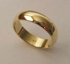 5 mm GENUINE 9K 9ct SOLID GOLD WEDDING BAND RING Size  N/7 to Z+2/14