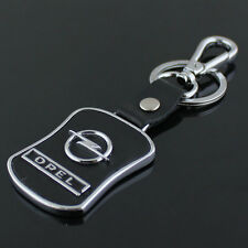 New Opel Series Style Car Keychain Opel Leather KeyRing Collect Key Ring gift