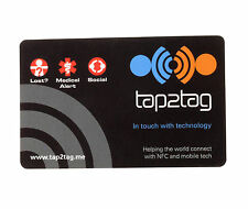 Tap2Tag  Medical in Case of Emergency card