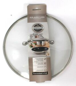 "Farberware Millennium Stainless Steel Glass Lid Fits 12.25"" Nonstick Skillet"