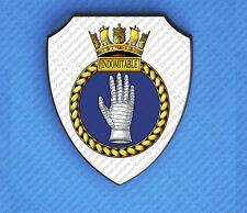 HMS INDOMITABLE WALL SHIELD