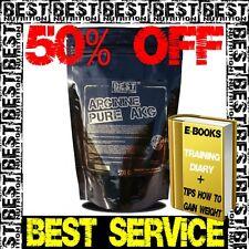 BEST NUTRITION AAKG Arginine AKG Powder Muscle Pump 100% Pure