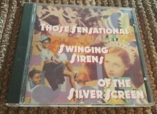 Those Sensational Swinging Sirens Of The Silver Screen : Various Artists.