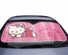 Car Window Sun Shade Hello Kitty Protector Shield Blocks Shade Windscreen Cover
