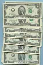 OCTOBER 19 BIRTHDAY YEAR TWO DOLLAR BILL MNT UNC ALL YEARS 1901-2000 10/19