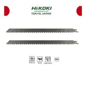 Lama Hitachi/Hikoki per sega gattuccio Inox alimenti congelati carne ossi Pz 2