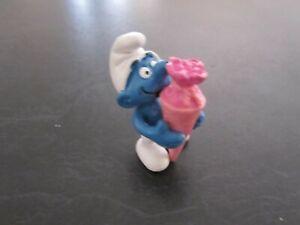 Smurfs Pink Surprise cone Smurf Rare (e)