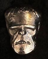 "2.75 Troy Oz MK BarZ "" Frankenstein"" Hand Poured Tumble .999 FS Bar"