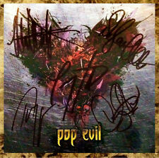 POP EVIL War Of Angels Signed By All 5 Members CD Booklet +FREE Rock Stickers