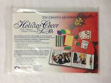 Creative Memories Holiday Cheer Snap Pack Scrapbooking Photo Album Kit