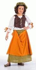Disfraz tabernera medieval infantil niña