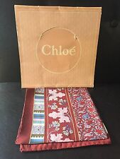 Collectible Chloe Silk Scarf NWOT