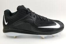 Nike Air MVP Pro Metal 2 Mens Baseball Cleats Black Carbon Fiber 684685-010