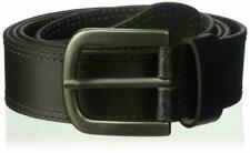 Dickies Men's 100% Leather Belt with Stitch Design and Prong Buckle 40 Waist 38