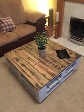 Wood Farmhouse Handmade No Assembly Required Coffee Tables