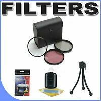 Bower 72mm 3 Piece Filter Kit for Canon DSLR 28-135mm, 50mm f/1.2L, 70-200mm...