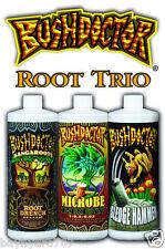 FoxFarm BushDoctor Trio KangaRoots, Microbe Brew, SledgeHammer Pints 16oz Each
