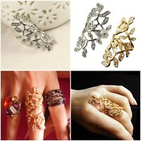 New Hot Cool Rock Punk Full Finger Hollow Joint Knuckle Ring Rings Fashion