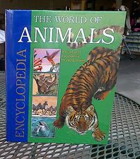 72 pcs. Lot World of Animals Encyclopedia children's book, Tormont,