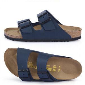 BIRKENSTOCK ARIZONA Blue Regular 51751 Sandals Beach Shoes Slipper