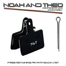 N&T Shimano BR M486 M495 M505 M506 M515 M515LA Semi Metallic PASTIGLIE FRENO A DISCO
