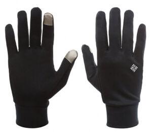 NEW Columbia Omni-Heat Touch Glove Liner BLACK, S-M-L-XL