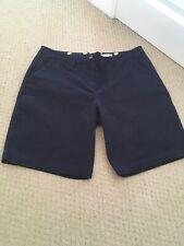 Boden Ladies Navy Chino Shorts Size 14.  💛💛💛