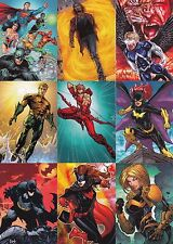 DC THE NEW 52 2012 CRYPTOZOIC COMPLETE BASE CARD SET OF 62.COMICS LEGENDS