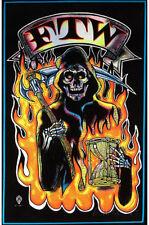 FTW Grim Reaper Blacklight Poster Print Blacklight Poster Print, 23x35