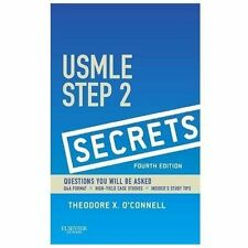 USMLE Step 2 Secrets by Theodore X. O'Connell  4th Edition   142ISBN 9780323188