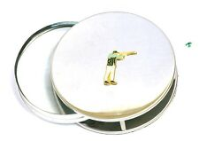 Shooter Enamel Magnifying Reading Glass Desktop Office Game Clay Shooting Gift
