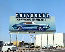 1969 Chevelle SS 396 Billboard Arizona 8 x 10 Photograph