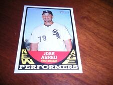2016 Topps Heritage New Age Performers #NAPJA Jose Abreu Chicago White Sox