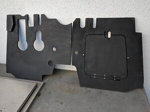 PORSCHE 356 Custom Pedal Board Set w/ Hatch, T6 B C, Door, Foot Floor