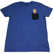 Marvel Comics Guardians of the Galaxy Vol. 2 Baby Groot Mens Blue T-Shirt