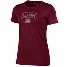 Champion NCAA Women's University V-Neck 1, Mississippi State Bulldogs, X-Small