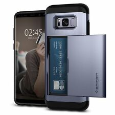 Spigen Galaxy S8 Case Slim Armor CS Card Slider Orchid Gray