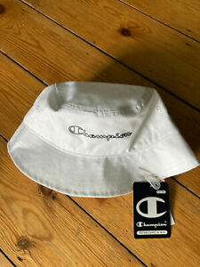 Brand new Champion white bucket hat