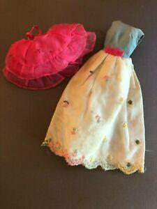 #1260 First Formal  1966 Francie doll outfit MOD vintage Barbie