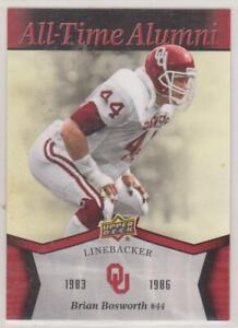 2011 Upper Deck Oklahoma Football All-Time Alumni Brian Bosworth #ATABB