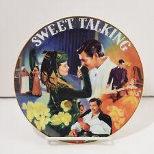 Gone With The Wind Musical Treasures Sweet Talking Plate Aleta 1996 Bradford
