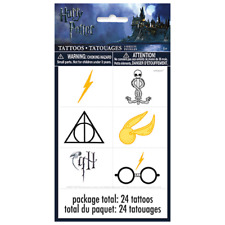 Harry Potter Temporary Tattoos 24 Pack Party Bag Fillers