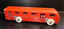 Vintage Jukka Wooden Bus Pull Toy Finland
