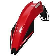 garde boue avant universel  enduro super moto rouge  POLISPORT  EXURA  UFX
