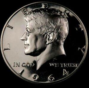 1964 Kennedy Half Dollar // Gem Proof+++ // 90% Silver // 1 Coin