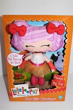 lalaloopsy Sew Silly Chatters Peanut Big Top I Talk Pull String Doll New