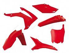 Set Plastique Honda CRF 250 2014=>2017 / 450 2013=>2016 Rosso Rouge