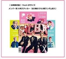 New EXO-CBX MAGIC arena limited CD 7 inch EP size jacket with sticker